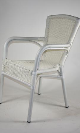 sedia-esterno-bianca